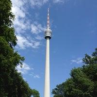 6/16/2012にBirgit S.がFernsehturm Stuttgartで撮った写真