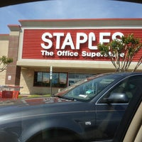 Photo taken at Staples by Chelsea N. on 4/3/2012