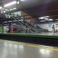 Photo taken at Metro Moncloa by Ego S. on 9/30/2011