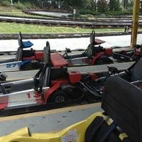 Photo taken at Malibu Grand Prix by Stephanie S. on 7/22/2012