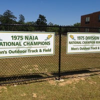 Photo taken at Southeastern Track and Field Complex by Damon S. on 4/24/2012