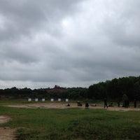Photo taken at Lapangan Tembak Manggar by Ardhi P. on 6/23/2012