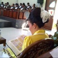 Photo taken at GMIM Tesalonika Buyungon by Maria M. on 6/19/2012