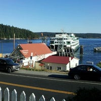 Photo taken at Orcas Island Ferry Terminal by Robert H. on 9/4/2011