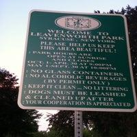 Photo taken at Leavenworth Park by Trevor O. on 7/14/2011