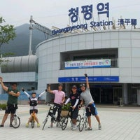 Photo taken at Cheongpyeong Stn. by withgo on 8/14/2011
