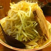 Photo taken at 百歩ラーメン by Satoru I. on 3/17/2012