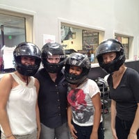 Photo taken at Fastkart Indoor Speedway by Janina B. on 6/27/2012