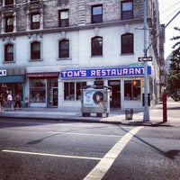 Photo taken at Tom's Restaurant by Chris C. on 8/25/2012