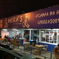 Photo taken at Akira's Bar e Restaurante by Ricardo akio S. on 12/23/2011