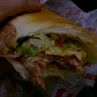 Photo taken at Jimmy John's by Robyn R. on 1/1/2012