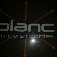 Photo taken at Blanc Burgers + Bottles by Tony H. on 1/18/2012
