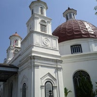 Photo taken at Gereja Blendoeg (GPIB Immanuel Semarang) by Joni S. on 7/23/2012