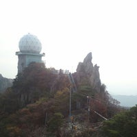 Photo taken at 관악산 연주대 by young beom K. on 10/9/2011