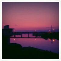 Photo taken at 千歳橋 by GATTACA on 10/10/2011