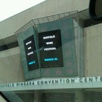 Photo taken at Buffalo Niagara Convention Center by Marcia K. on 3/31/2012