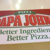 Photo taken at Papa John's by Marc R. on 8/19/2012
