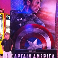 Photo taken at Regal Cinemas Riviera 8 by Chris T. on 7/24/2011