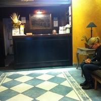 Photo taken at Antik City Hotel Prague by Oscar R. on 10/18/2011
