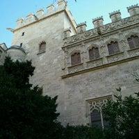 Photo taken at Llotja de la Seda by Vico V. on 10/8/2011
