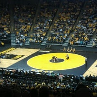 Photo taken at Carver-Hawkeye Arena by Justin D. on 1/15/2012