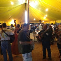Photo taken at Galax Old Time Fiddlers Convention by Chris on 8/11/2012