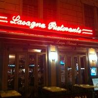 Photo taken at Lasagna Chelsea Restaurant by Melanie N. on 4/19/2012