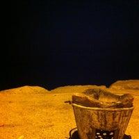 Photo taken at Wonnapa Beach by Manatchaya P. on 3/23/2012