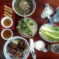 Photo taken at Saigon Vietnamese Restaurant by Leah R. on 6/30/2012