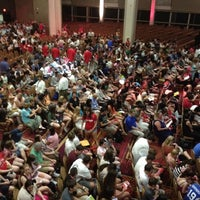 Photo taken at Metcalf Ballroom by Mike D. on 6/22/2012