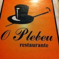 Foto tirada no(a) O Plebeu por Marcos Eugenio A. em 5/3/2012