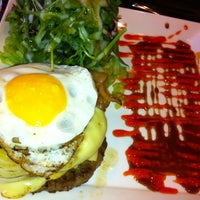 Photo taken at Kraze Burgers by Bryan T. on 2/29/2012