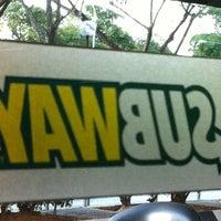 Photo taken at SUBWAY by faizal b. on 6/3/2012