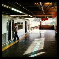Photo taken at Estação Pedro II (Metrô) by José Otávio T. on 5/24/2012