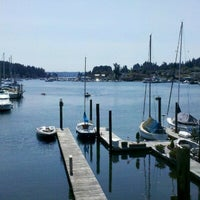 Photo taken at Gig Harbor Waterfront by Dave S. on 7/7/2012