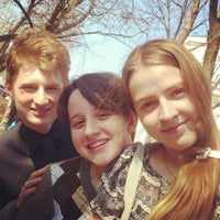 Photo taken at Школа №9 им. А. С. Пушкина by isqua i. on 4/16/2012