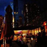 Photo taken at The Terrace at Yotel by Joanna L. on 8/11/2012