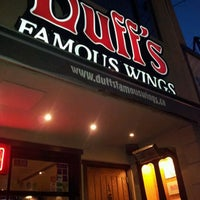 Photo taken at Duff's Famous Wings by Dominik M. on 4/14/2012