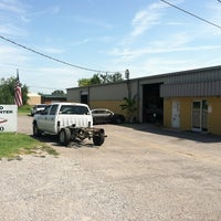 Photo taken at Hillwood Towing & Body Shop by Stephen S. on 7/25/2012
