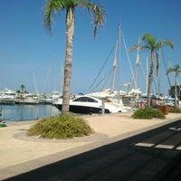 Foto tomada en Puerto deportivo Marina de las salinas por Laura F. el 8/14/2012