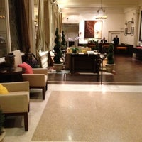Photo taken at Villa Florence Hotel by BJ Y. S. on 2/28/2012