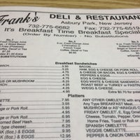 Photo taken at Franks Deli & Restaurant by Michael H. on 7/21/2012