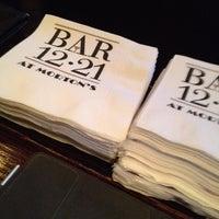 Photo taken at Morton's The Steakhouse - Boca Raton by Mike E. on 2/25/2012