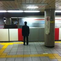 Photo taken at Marunouchi Line Otemachi Station (M18) by Matthew S. on 2/27/2012
