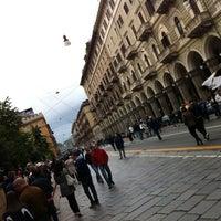 Photo taken at Via Cernaia by Alberto S. on 5/13/2012