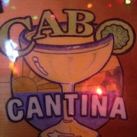 Photo taken at Cabo Cantina by Hugo V. on 3/7/2012