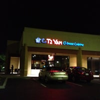 Photo taken at T2 Yan Chinese Restaurant by Eric C. on 8/26/2012