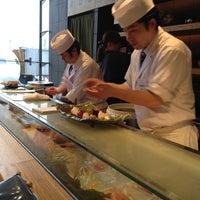 Photo taken at Sushi Kyotatsu by Kulavat S. on 3/18/2012