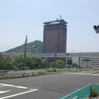 Photo taken at 仁保橋 by yodarekuma on 6/6/2012