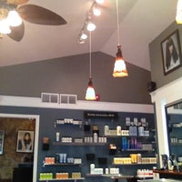 Photo taken at Amber Waves Art of Hair Salon by Tammi L. on 4/15/2012